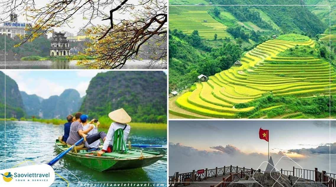 Du lịch Miền Bắc – Ninh Bình – Bái Đính – Tràng An – Sapa 4 ngày giá tốt từ TP. HCM