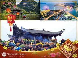 Tour Miền Bắc – Hà Nội – Ninh Bình – Hạ Long – 4 ngày 3 đêm Tết Âm Lịch 2021 từ TP. HCM