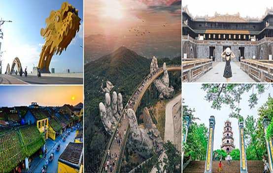 Du lịch Tết Dương lịch 2021 – Đà Nẵng – Hội An – Huế 4 ngày 3 đêm khởi hành từ Sài Gòn