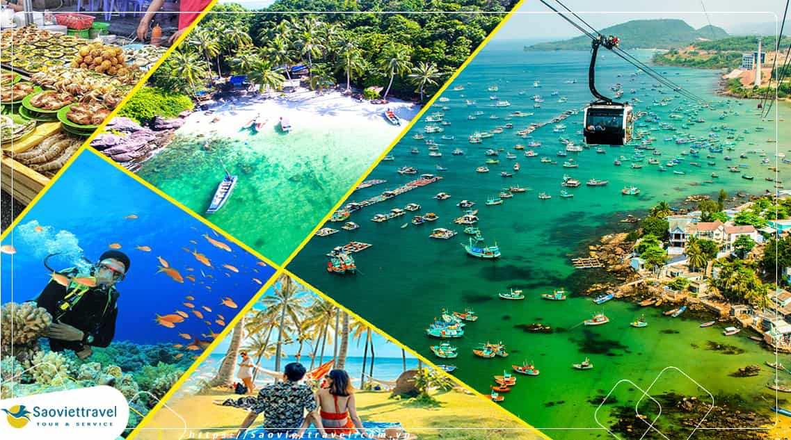 Tour du lịch Tết Dương lịch – Phú Quốc – Thiên Đường Nghỉ Dưỡng từ Hà Nội 2021
