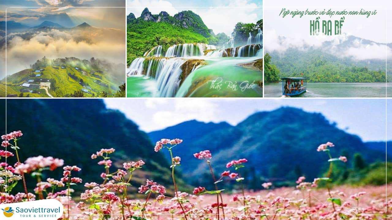 Du lịch Miền Bắc – Hà Giang – Cao Bằng – Thác Bản Giốc – Hồ Ba Bể – 5 ngày 4 đêm từ Sài Gòn