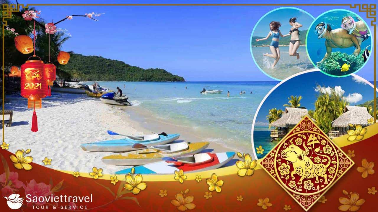 Du lịch Tết Âm lịch 2021 – Phú Quốc 4 Ngày 3 đêm giá tốt từ Hà Nội