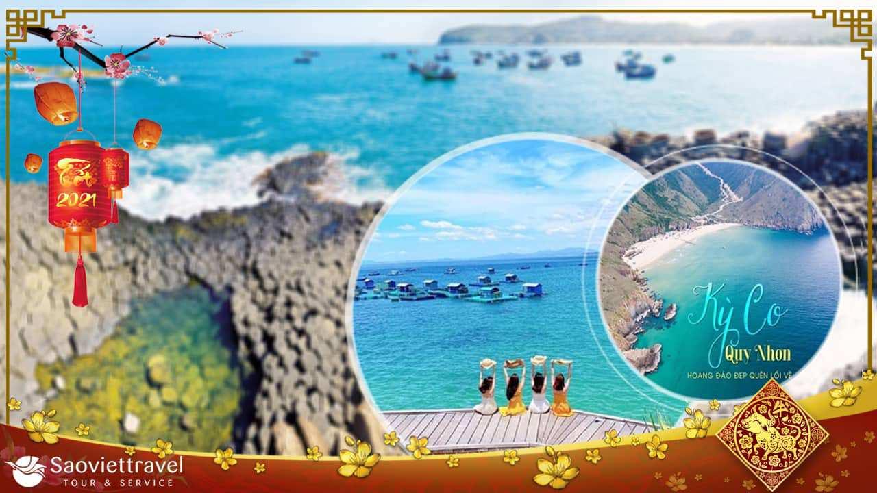 Du lịch Tết Âm lịch 2021 – Quy Nhơn – Phú Yên 4 ngày 3 đêm từ Sài Gòn
