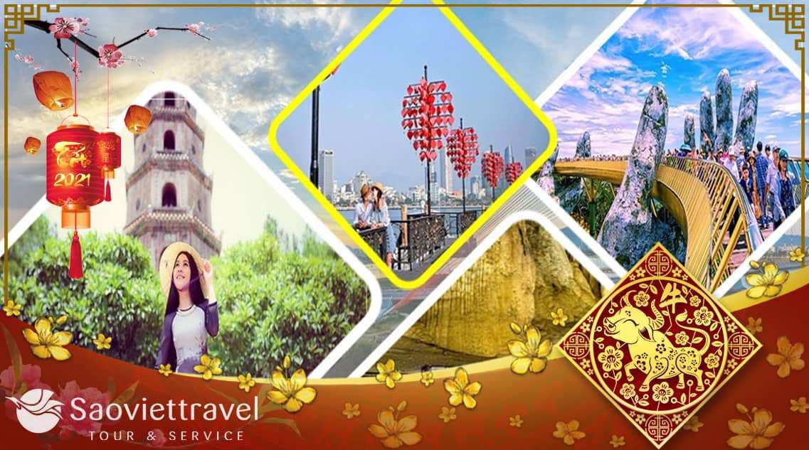 Tour du lịch Đà Nẵng – Sơn Trà – Bà Nà – Hội An – Huế – 4 Ngày tết âm lịch 2021 từ Hà Nội