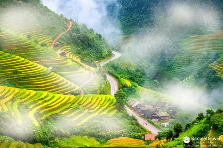 Du lịch Miền Bắc – Hà Nội – Hạ Long – Mù Cang Chải – Tú Lệ 4 ngày 3 đêm từ Sài Gòn 2020