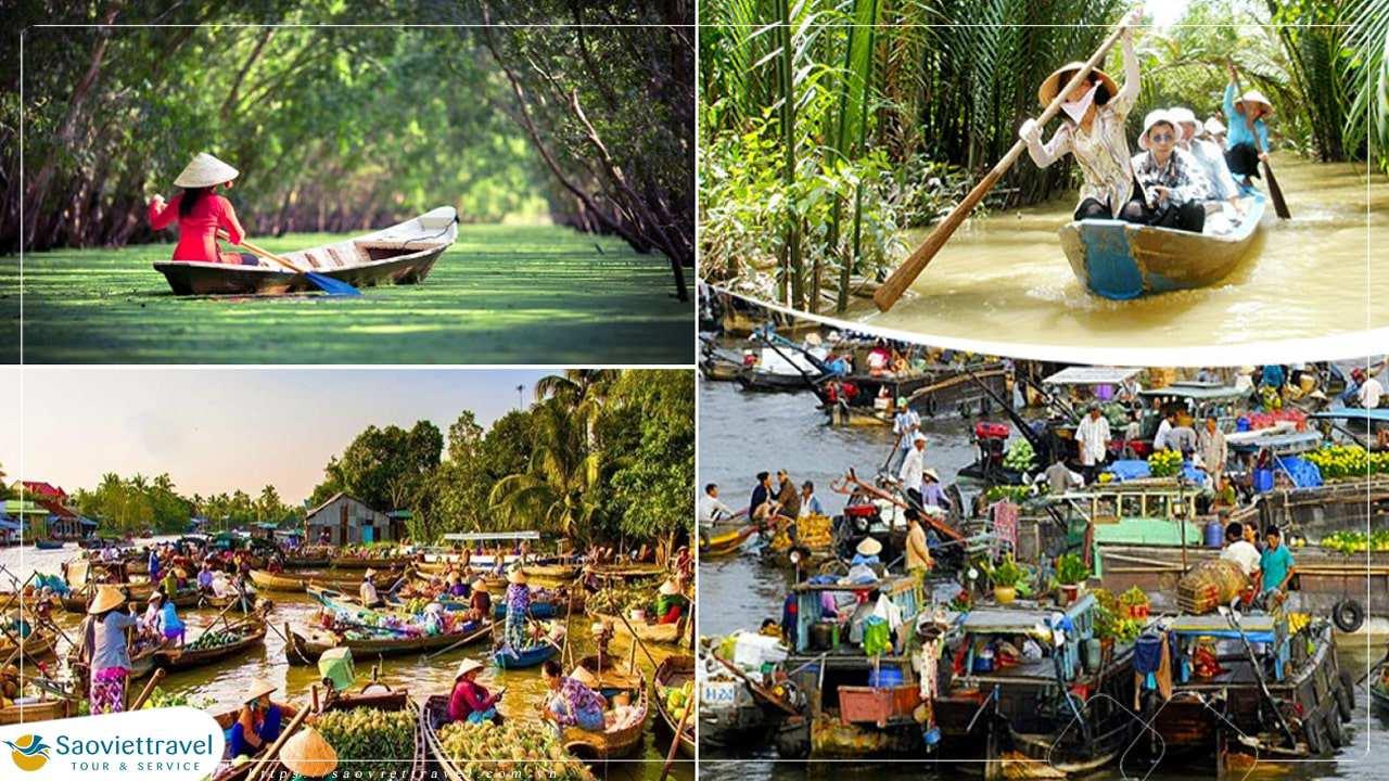 Tour du lịch Miền Tây 3 ngày – Mỹ Tho – Bến Tre – Cần Thơ – Châu Đốc từ Sài Gòn