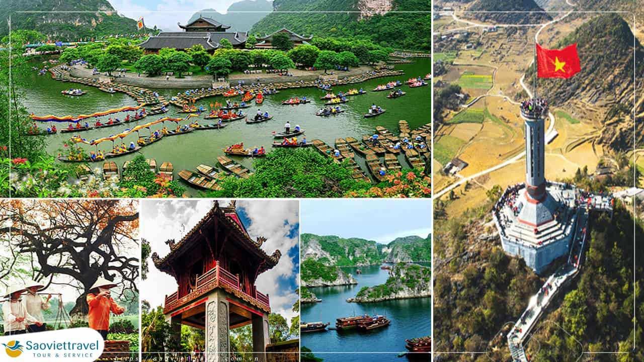 Tour Miền Bắc 5 ngày 4 đêm – Hà Nội – Ninh Bình – Hang Múa – Hà Giang từ Sài Gòn giá tốt