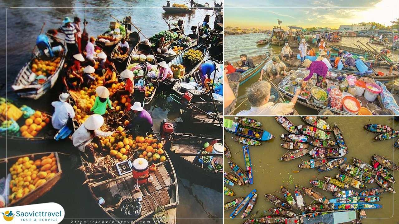 Tour Miền Tây 3 ngày –  Bến Tre – Cần Thơ – Châu Đốc – Đồng Tháp từ Sài Gòn
