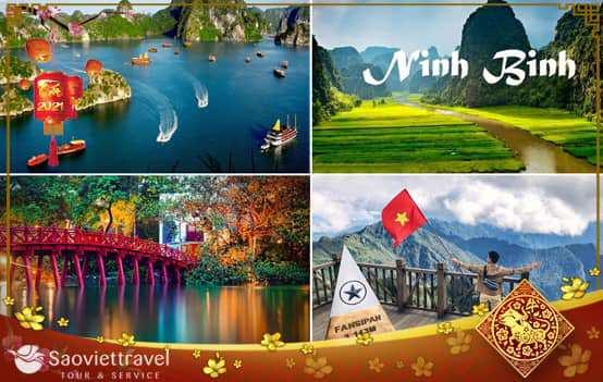 Du lịch Miền Bắc Tết Âm lịch – Hạ Long – Ninh Bình – Hà Nội – Sapa 4 ngày từ Sài Gòn