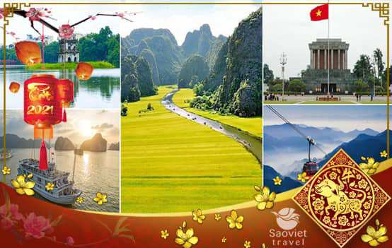 Du lịch Tết Nguyên Đán 2021 – Hà Nội – Ninh Bình – Hạ Long – Yên Tử 4 ngày từ Sài Gòn