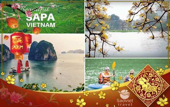 Du lịch Tết Nguyên Đán Miền Bắc 2021 – Hà Nội – Ninh Bình – Hạ Long – Sapa 6 ngày 5 đêm từ TP. HCM – TOUR CAO CẤP