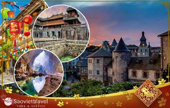 Du lịch Tết Âm lịch 2021- Đà Nẵng – Bà Nà – Hội An – Cố Đô Huế 3 ngày 2 đêm từ Sài Gòn