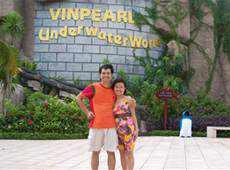 Trang Mat Nha Trang Vinpearl