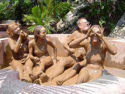 tắm bùn khoáng Nha Trang