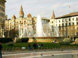 Du Lich Tây Ban Nha plaza de cataluna barcelona