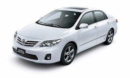 Thuê xe Toyota Corolla Altis 4 chỗ