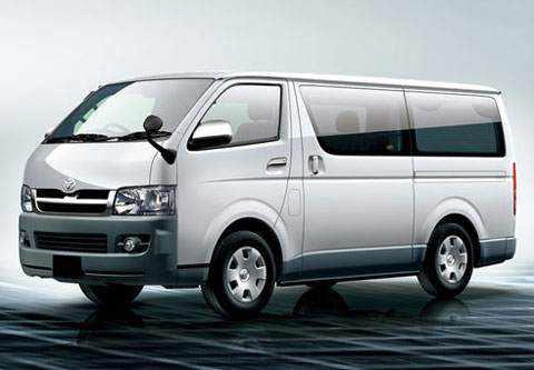 Xe Toyota Hiace 16 chỗ cho thuê tại Hà Nội